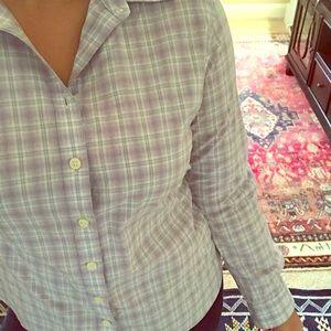 Banana Republic Button Up Long Sleeve Shirt